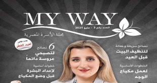 مجلة ماى واى مايو 2021 العدد الثالث عيد الفطر مجلة الأسرة المصرية